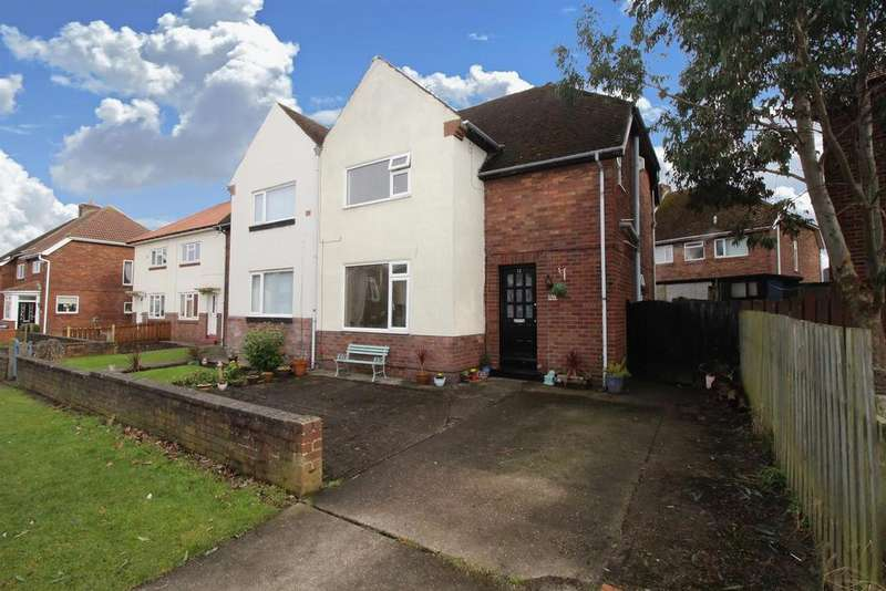3 Bedrooms Semi Detached House for sale in Prospect Avenue, Seaton Delaval, Whitley Bay