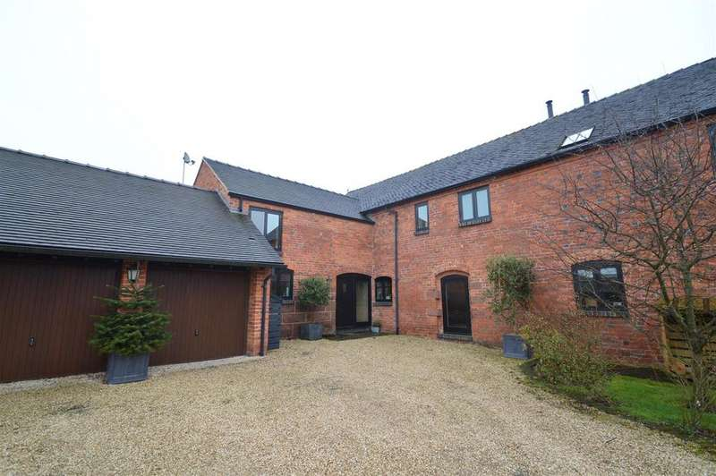 4 Bedrooms Barn Conversion Character Property for sale in 1 Village Barns, Childs Ercall, Market Drayton, TF9 2DA