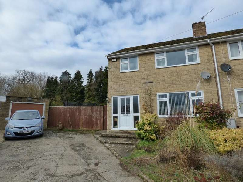 3 Bedrooms Semi Detached House for sale in Rectory Crescent, Middle Barton