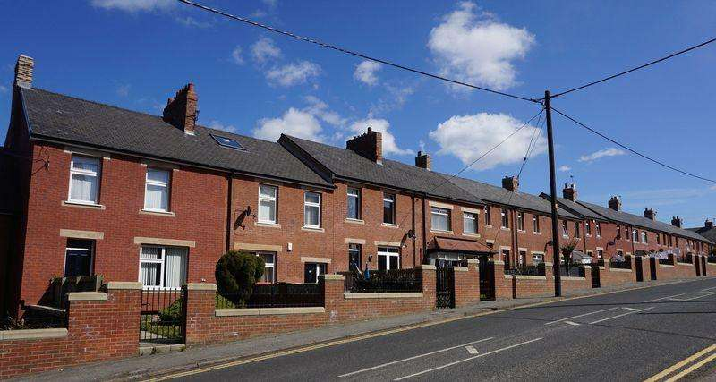 3 Bedrooms Terraced House for rent in Edward Street Craghead