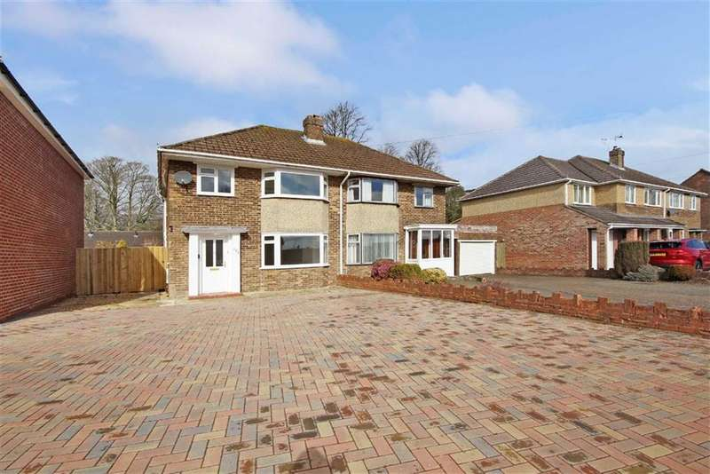 3 Bedrooms Semi Detached House for sale in Beechcroft Road, Stratton, Wiltshire