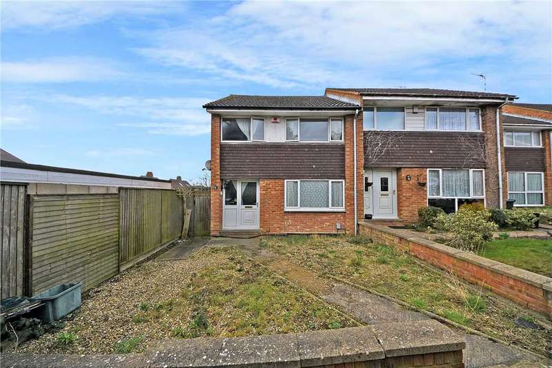 3 Bedrooms End Of Terrace House for sale in Pytchley Rise, Wellingborough, NN8 3LA