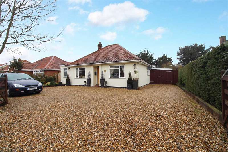 2 Bedrooms Detached Bungalow for sale in The Street, Capel St Mary
