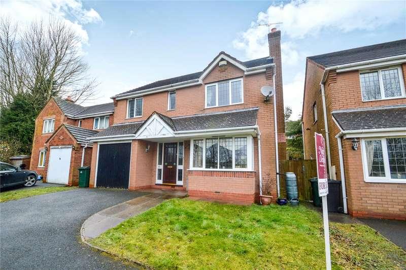 4 Bedrooms Detached House for sale in 41 Larks Rise, Cleobury Mortimer, Kidderminster, Shropshire, DY14