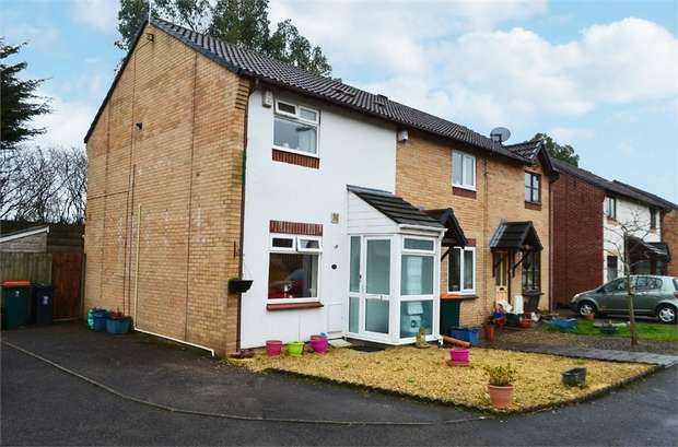 2 Bedrooms End Of Terrace House for sale in Forge Mews, Bassaleg, Newport