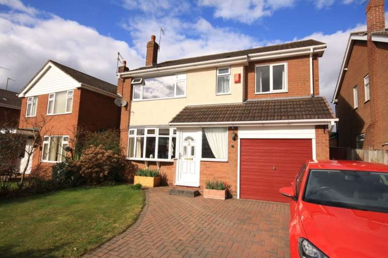 4 Bedrooms Detached House for sale in Rope Bank Avenue, Wistaston, Crewe, CW2