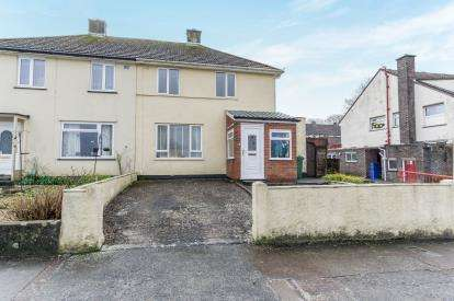 2 Bedrooms Semi Detached House for sale in Pennycross, Plymouth, Devon