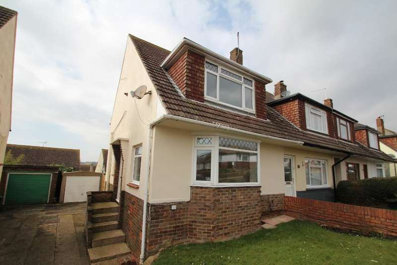 3 Bedrooms Semi Detached House for rent in Thornhill Rise, Mile Oak, Portslade, East Sussex, BN41 2YJ