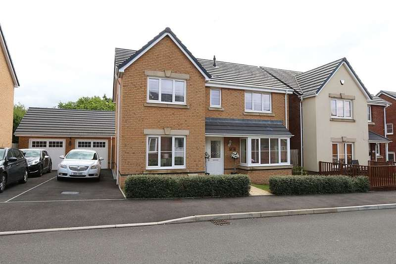 4 Bedrooms Detached House for sale in Worcester Court, Tonyrefail, Porth, Rhondda, Cynon, Taff, CF39 8JU