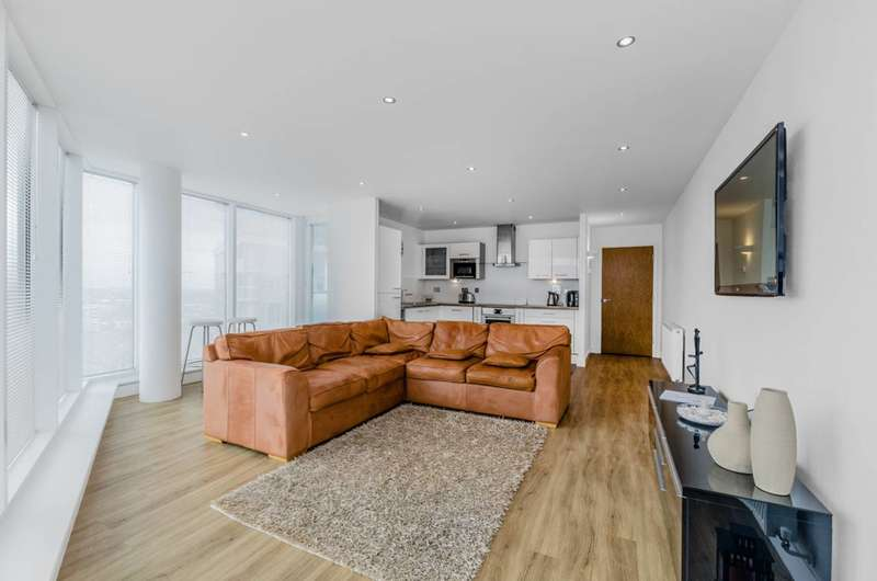 2 Bedrooms Flat for sale in Alaska Apartments, Royal Docks, E16