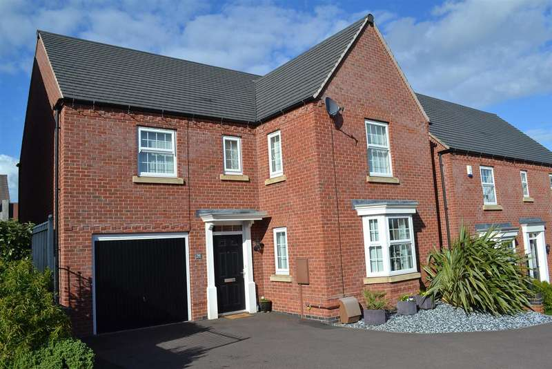 4 Bedrooms Property for sale in Church Gresley