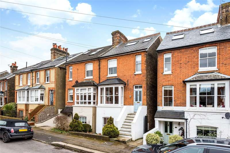 4 Bedrooms Semi Detached House for sale in Cornfield Road, Reigate, Surrey, RH2