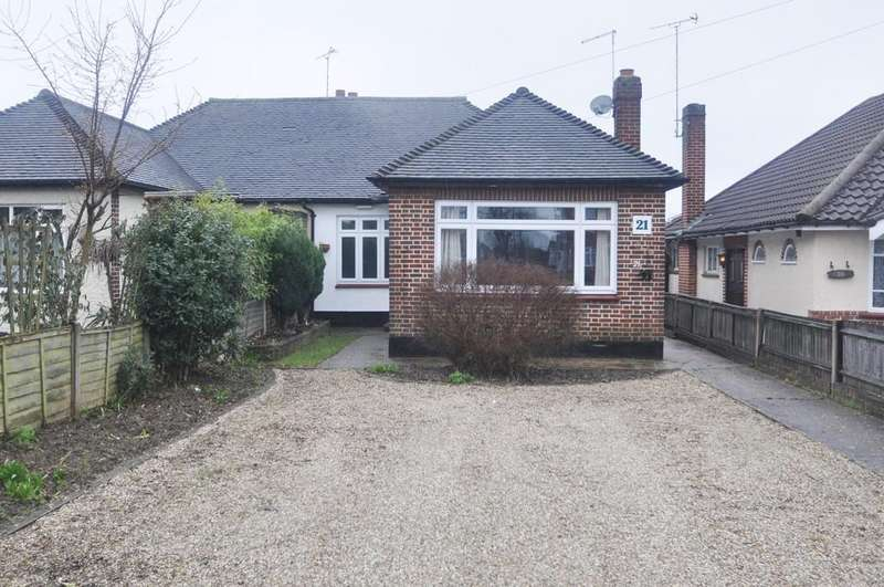 3 Bedrooms Semi Detached Bungalow for sale in Rayleigh Road, Thundersley