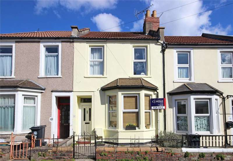 2 Bedrooms Terraced House for sale in Selborne Road, Ashley Down, Bristol, BS7