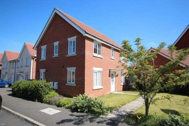 4 Bedrooms Detached House for rent in Manning Road, Bury St. Edmunds