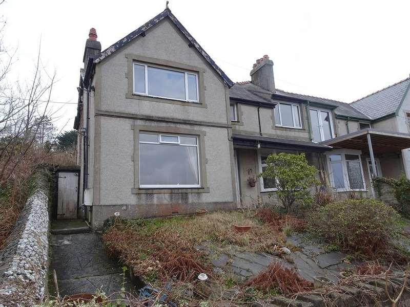 5 Bedrooms Semi Detached House for sale in Haulfryn, Borth Road, Porthmadog LL49