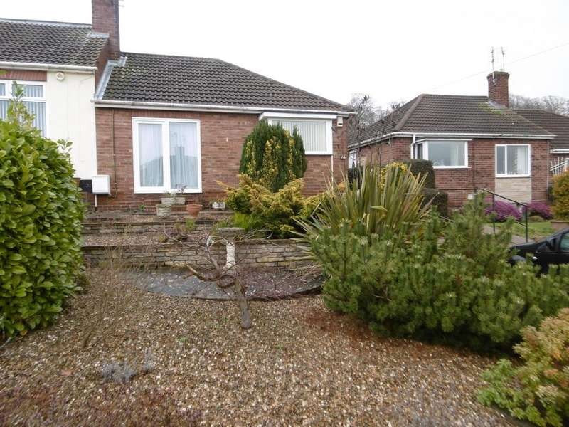 2 Bedrooms Semi Detached Bungalow for sale in Mayflower Close, Gainsborough, DN21 1AX