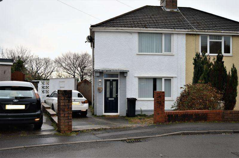 2 Bedrooms Semi Detached House for sale in Albion Road, Baglan, Port Talbot