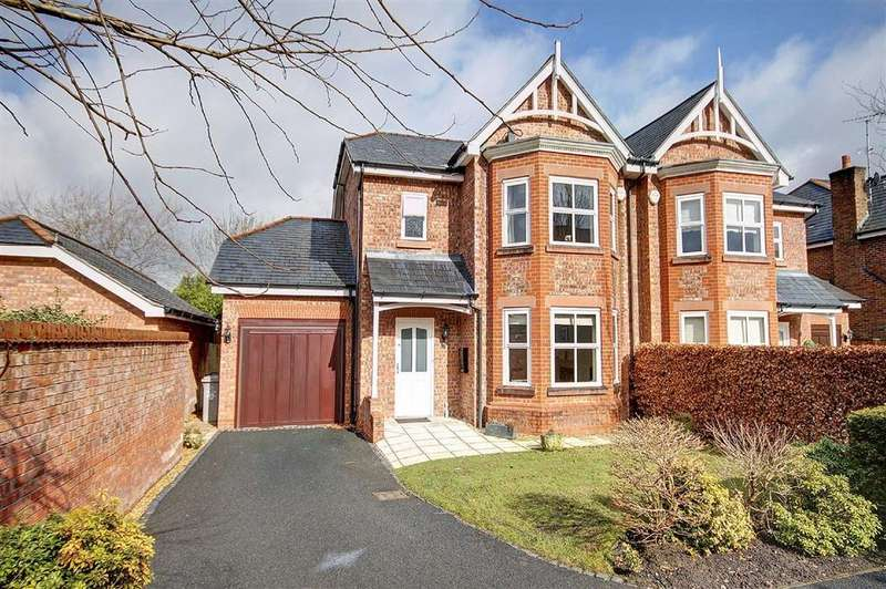 4 Bedrooms Semi Detached House for sale in Charlotte Place, Hale, Cheshire