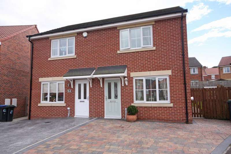 3 Bedrooms Semi Detached House for sale in Fellway, Pelton Fell, Chester-le-Street DH2 2BY
