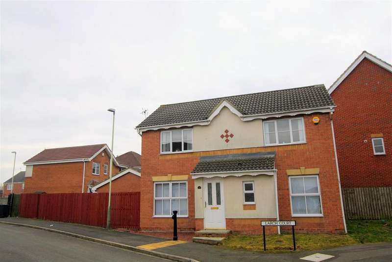 3 Bedrooms Detached House for sale in Larch Court, Darlington