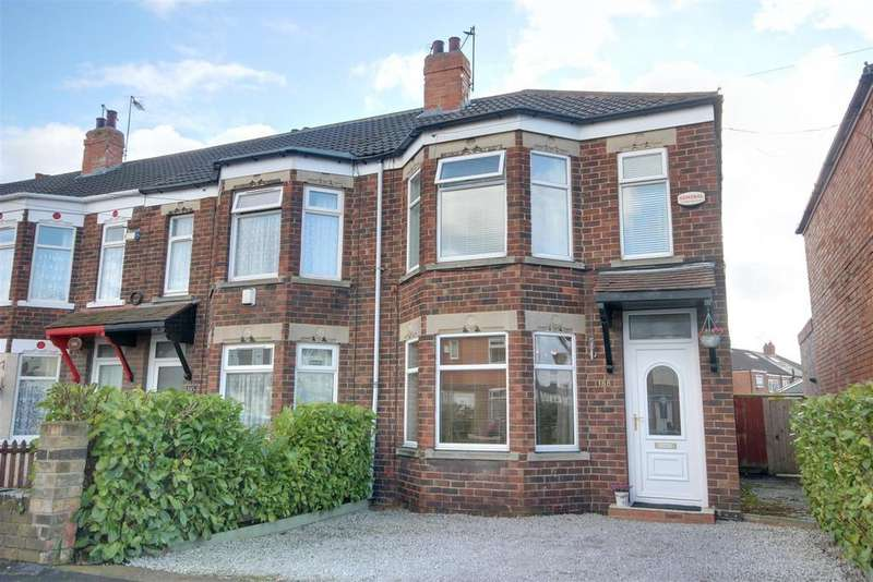 2 Bedrooms End Of Terrace House for sale in Brooklands Road, Hull