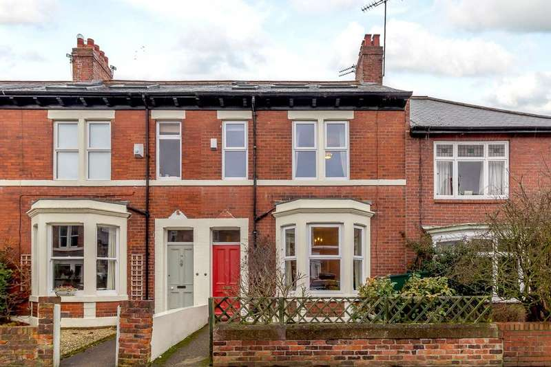 5 Bedrooms Terraced House for sale in Bath Terrace, Gosforth, Newcastle Upon Tyne, Tyne And Wear