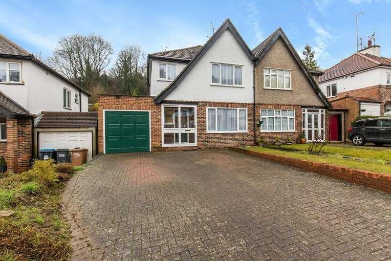 3 Bedrooms Semi Detached House for sale in Hillbury Road, Warlingham, Surrey, CR6 9TG