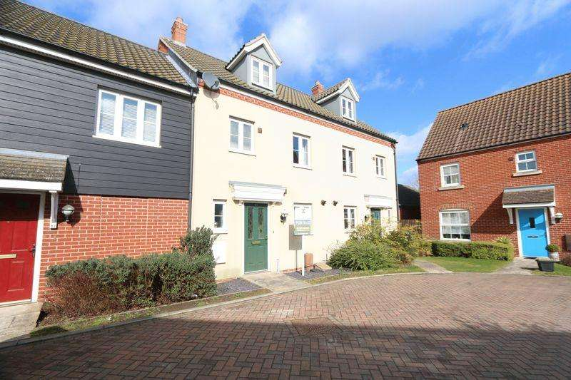 3 Bedrooms Terraced House for sale in Hollendale Walk, Ely