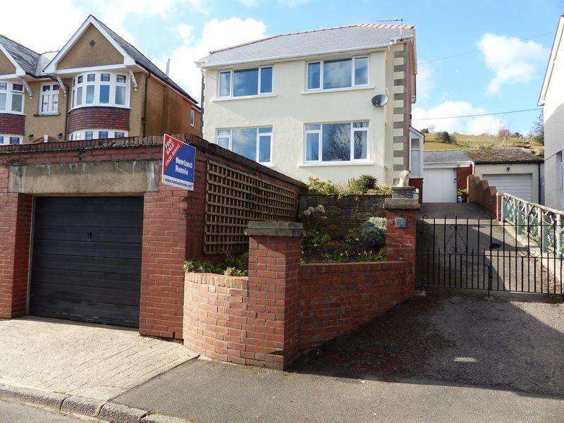 3 Bedrooms Detached House for sale in Usk Road, New Inn