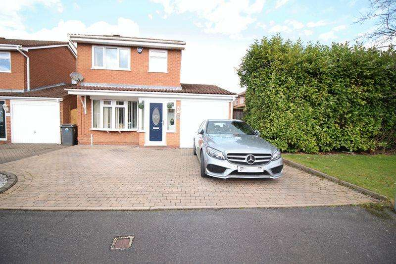 3 Bedrooms Detached House for sale in Abbeyfield Road, Fordhouses, Wolverhampton