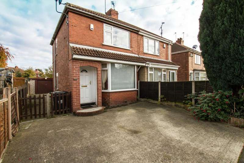2 Bedrooms Semi Detached House for sale in Crompton Avenue, Sprotbrough, Doncaster