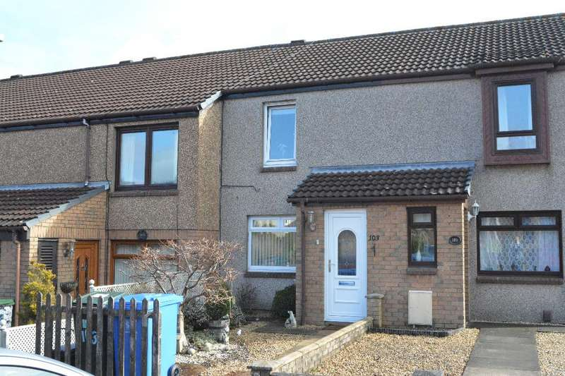 2 Bedrooms Terraced House for sale in Rowan Crescent, Falkirk, Falkirk, FK1 4SH