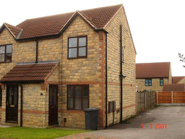 2 Bedrooms Semi Detached House for rent in Tilia Close, Scunthorpe