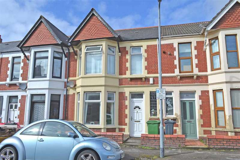 3 Bedrooms Terraced House for sale in AUSTRALIA ROAD, HEATH/GABALFA, CARDIFF