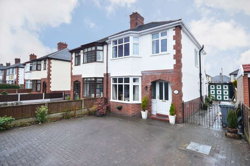 3 Bedrooms Semi Detached House for sale in Blurton Road, Blurton, ST3 3AY