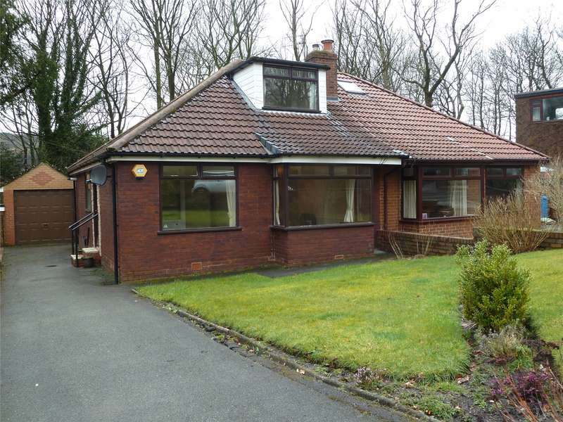 4 Bedrooms Semi Detached Bungalow for sale in Wellmeadow Lane, Uppermill, Saddleworth, OL3