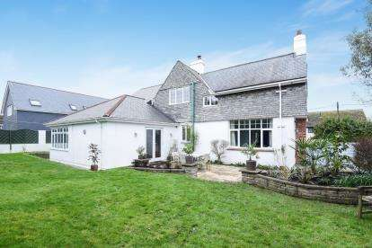 4 Bedrooms Detached House for sale in Carbis Bay, St. Ives, Cornwall