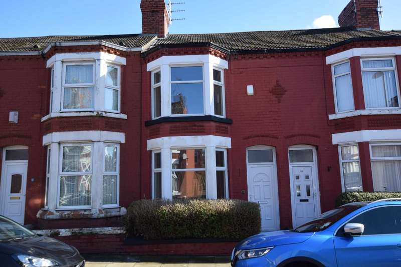 2 Bedrooms Terraced House for sale in Rosedale Road, Tranmere