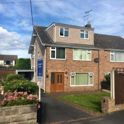 5 Bedrooms Semi Detached House for sale in Bryn Gobaith, St. Asaph, Denbighshire, LL17
