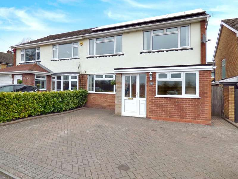 3 Bedrooms Semi Detached House for sale in Lynfield Road, Lichfield