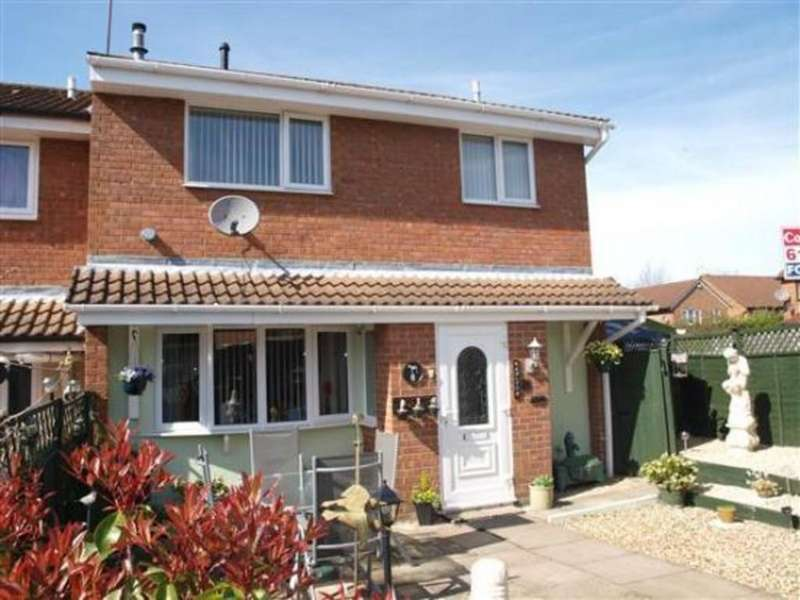 2 Bedrooms End Of Terrace House for sale in Alder Close, Swindon
