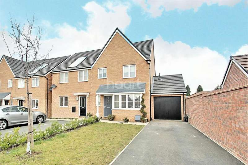 3 Bedrooms Semi Detached House for sale in Alnwick Close, Rushden