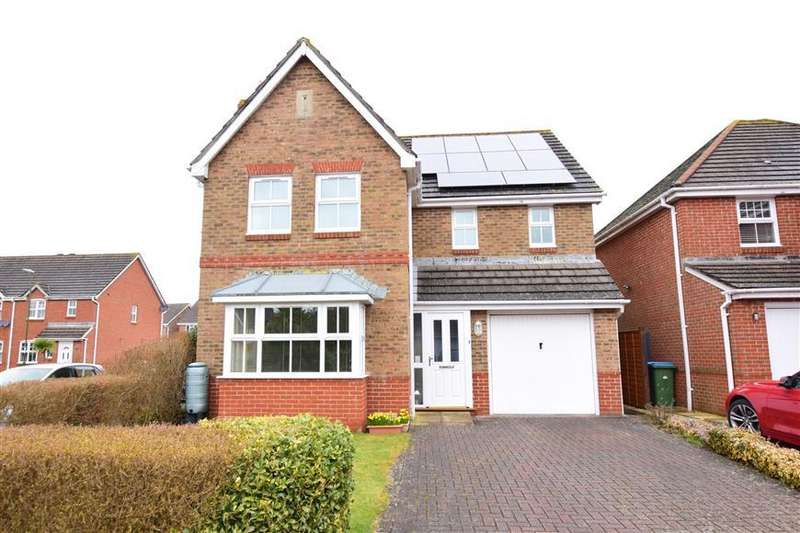 4 Bedrooms Detached House for sale in Lime Avenue, Westergate, Chichester, West Sussex
