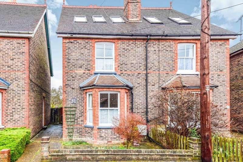 4 Bedrooms Semi Detached House for sale in Hazelwick Road, Three Bridges
