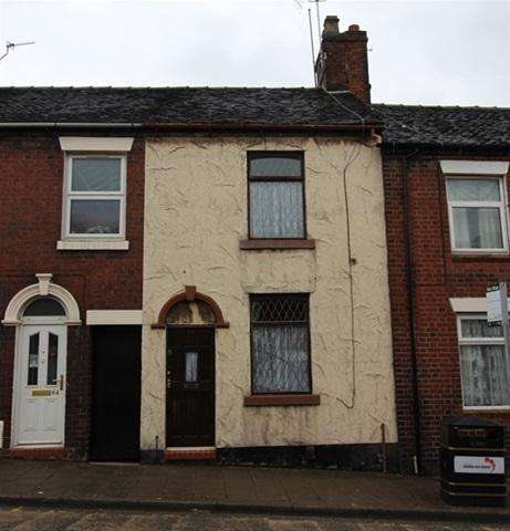 2 Bedrooms Terraced House for sale in ST MICHAELS ROAD, CHELL, STOKE-ON-TRENT