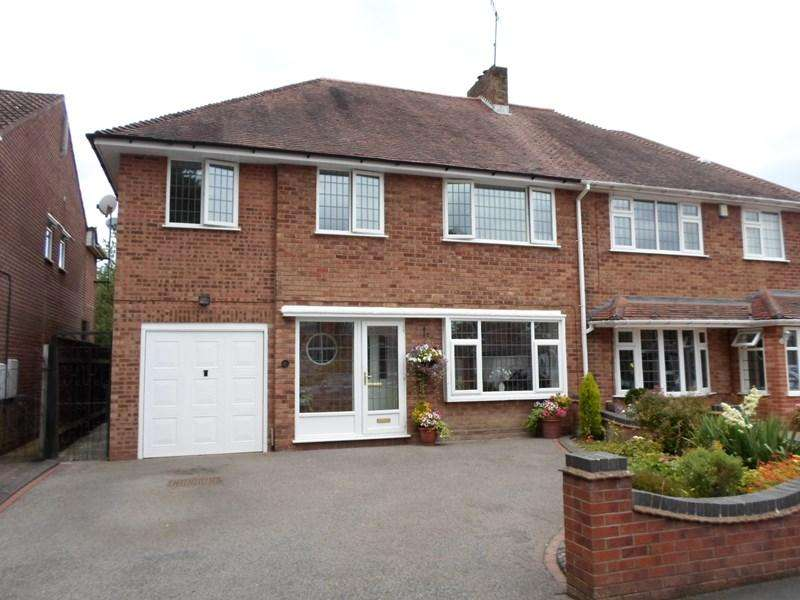 4 Bedrooms Semi Detached House for sale in Regan Avenue, Shirley, Solihull