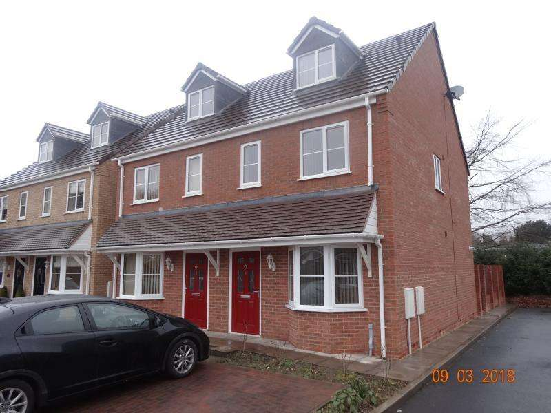 3 Bedrooms Semi Detached House for rent in York Court, Hednesford