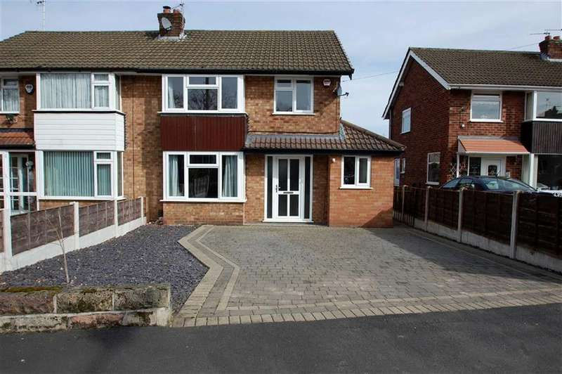 3 Bedrooms Semi Detached House for sale in Canberra Road, Bramhall, Stockport
