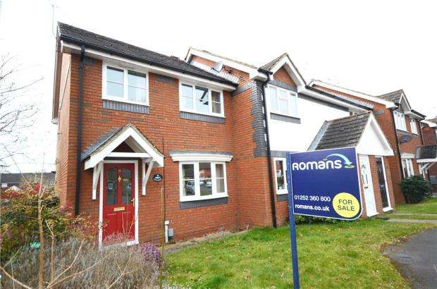 3 Bedrooms End Of Terrace House for sale in Nether Vell-Mead, Church Crookham, Fleet
